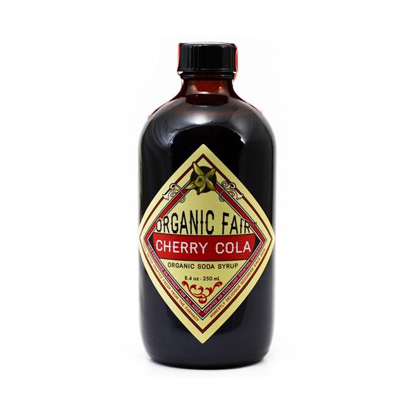 cherry cola soda syrup