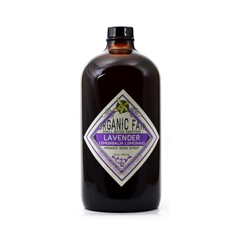lavender lemonbalm lemonade soda syrup big bottle