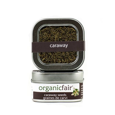 organicfair caraway seeds tin