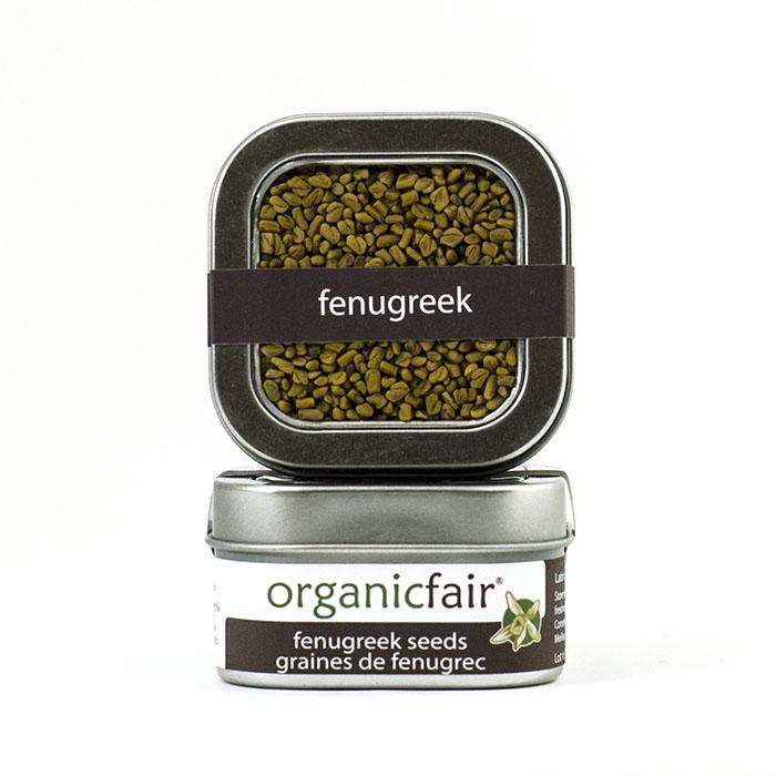 organicfair fenugreek spice tin