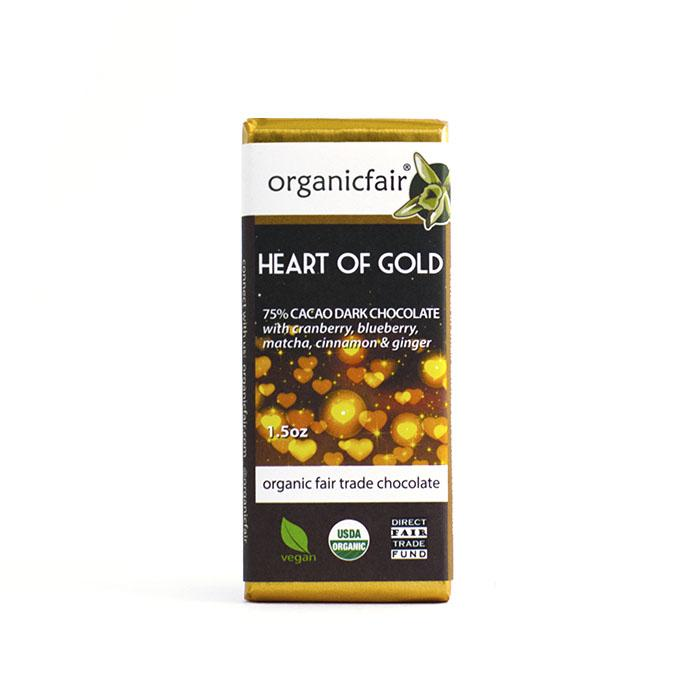 heart of gold chocolate bar