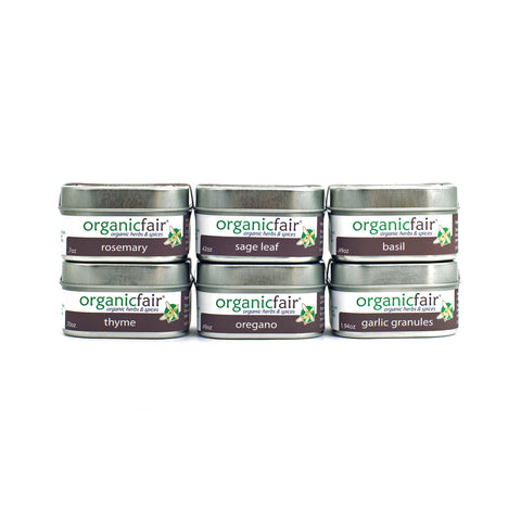 organicfair taste of italy spice set front