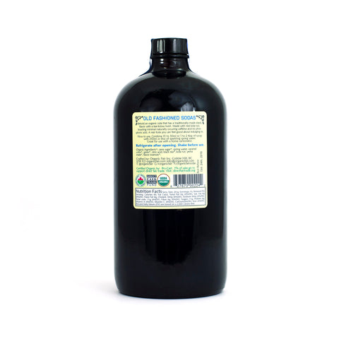 organicfair kola soda syrup back label