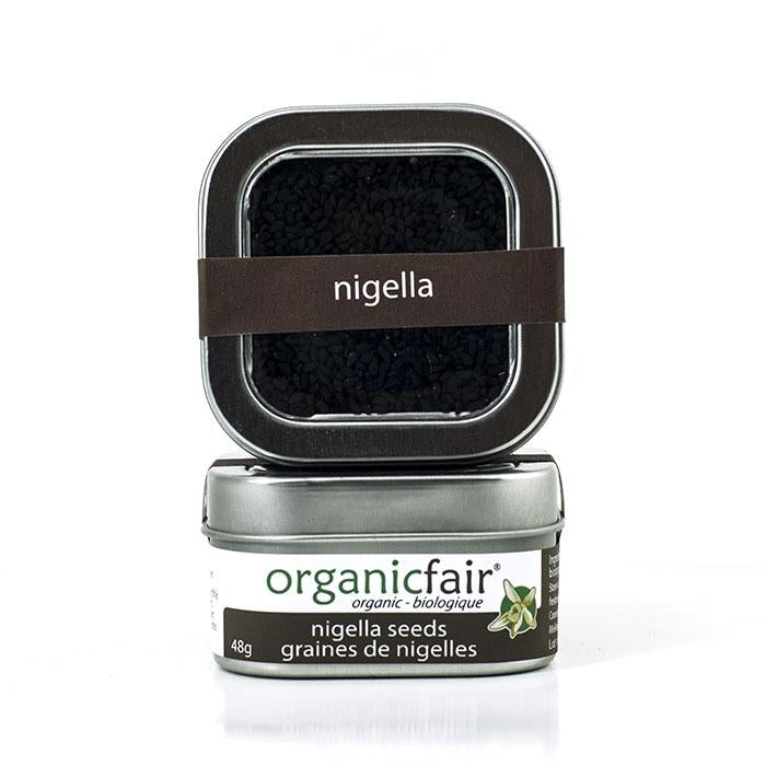 organicfair nigella seeds tin