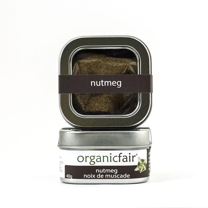 organicfair nutmeg powder tin