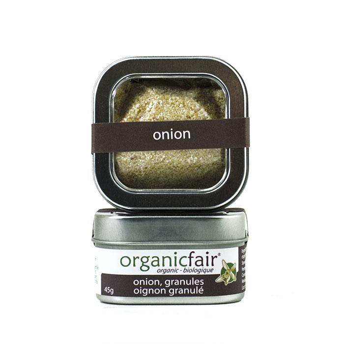 organicfair onion powder tin