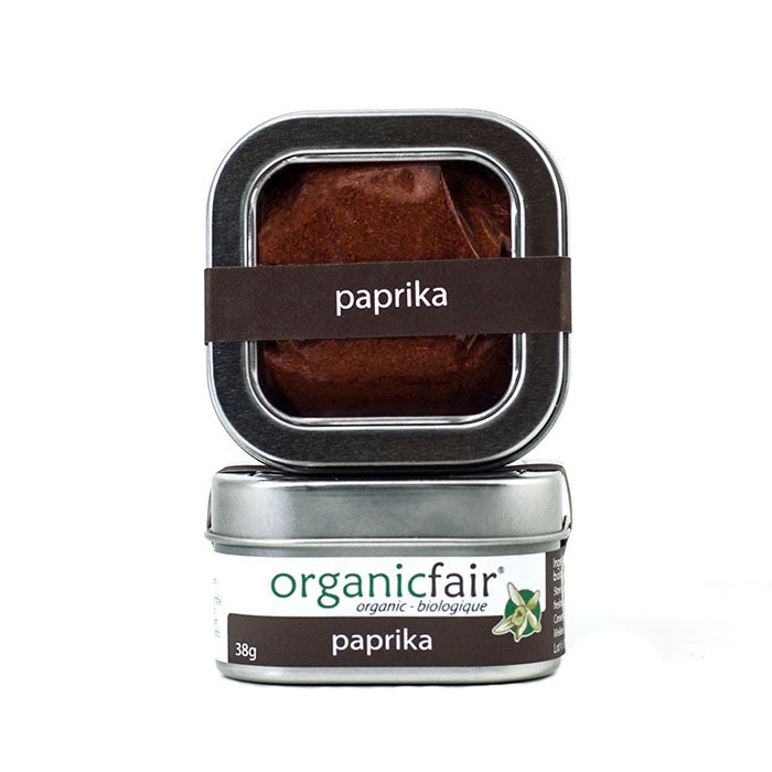 organicfair paprika powder tin