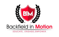 Backfield in Motion Logo