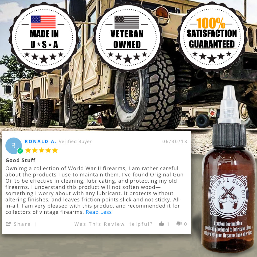 Original Gun Oil - 2oz Bottle