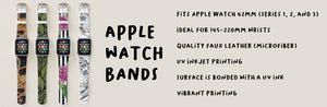Art Design Apple Watch Bands High Quality
