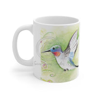 Cute Hummingbird Watercolor Mug 11Oz