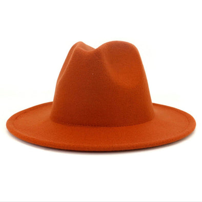 Pumpkin Orange FEDORA
