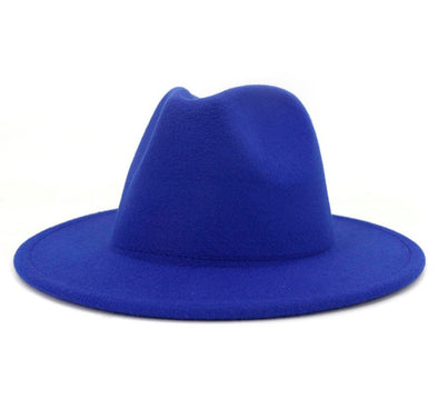Solid Royal Blue FEDORA