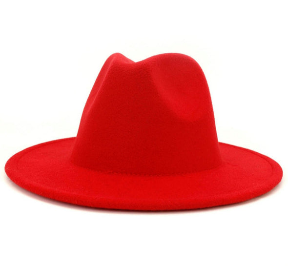 Solid Red FEDORA