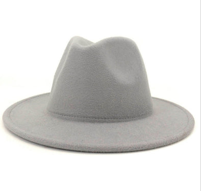 Solid Light Grey FEDORA