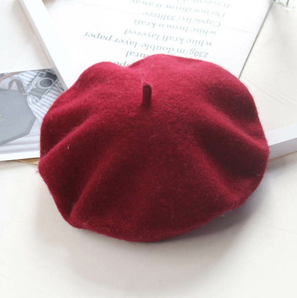 Wine Red Beret