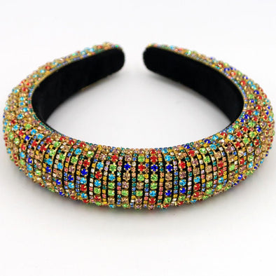 Multi Color Stones headband