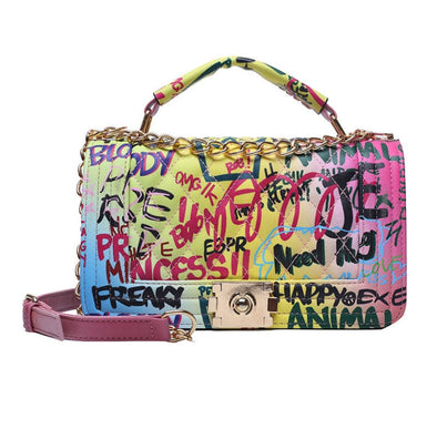 Colorful Graffiti Bag