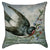 Vintage Flying Sparrow Throw Pillow