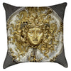 Small Medusa Throw Pillow