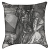 Small Albrecht Durer - Meloncholia Grey Throw Pillow