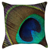 Small Peacocks Eye Throw Pillow