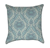 Victorian Seafoam Throw Pillow
