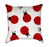 Cute Ladybug Throw Pillow