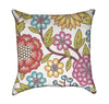 Colorful Decorative Floral Throw Pillow