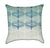 Abstract Sea Foam Ombre Throw Pillow