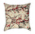 Sakura Cherry Blossom Branches on Beige Throw Pillow