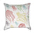 Colorful Jelly Fish Nautical Throw Pillow