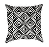 Triangular and Square Optical Illustion Throw Pillow