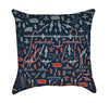 Little Boys Wwii Military Navy Throw Pillow