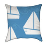Little Boy Blue's Little White SailboatsThrow Pillow