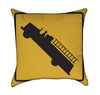 Fire Engine Emergency Vehichle Yellow Throw Pillow