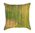 Zen Lotus Bamboo Throw Pillow