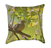 Nature Mourning Dove Bird Throw Pillow