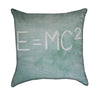 E=mc2 Einstien Relativity Math Throw Pillow