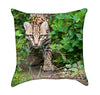 Lynxy Cat Wild Animal throw Pillow