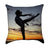 Gymnastic Sunrise Throw Pillow