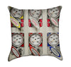 Fire Truck Pump Panel Throw Pillow