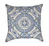 Decorative Portuguese Tile Throw Pillow