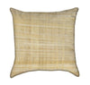 Light Papyrus Crème Color Throw Pillow