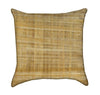 Medium Papyrus Tan Color Throw Pillow
