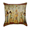 Colorful Papyrus Egyptian Throw Pillow