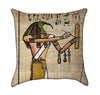 Egyptian Papyrus Thoth Throw Pillow