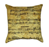 Sonata 23 Ludwig van Beetoven Music Throw Pillow