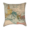 Roman Empire Map Throw Pillow
