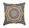 Colorful Moroccan Tile Throw Pillow